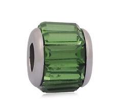 2pcs Charms Beads Fit sterling 925 Necklace European charm Bracelet Chain #A234