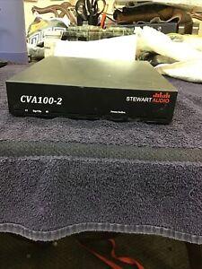 Stewart Audio CVA100-2 2 Channel Amplifier - 100W x 2 @ 70.7V (145)