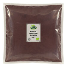 Organic Blueberry (Bilberry) Powder 1kg Certified Organic