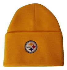 NFL Team Apparel Pittsburgh Steelers Knit Cuff Cap Beanie