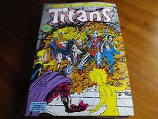 TITANS n° 112 de 1988 X-MEN - VENGEUR DE LA COTE OUEST TBE comme neuf