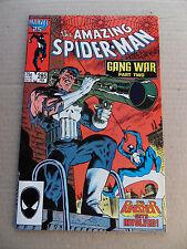 Amazing Spider-man  285. Punisher / Hobgoblin App . Marvel  1987 - VF - minus
