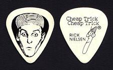 Cheap Trick Rick Nielsen Large Face White Guitar Pick - 1979 Tour