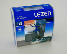 H3 100W Halogen  Headlight Bulbs  12V