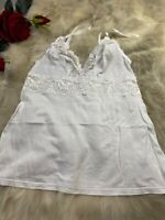 Palmers white Camisole Top sleepwear nightwear size S