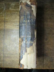 Antiquarian WELSH GAELIC NEW TESTAMENT BIBLE,Dr.Adam Clarke,1878,,FRAGILE