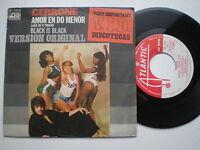 CERRONE Black Is Black SPAIN 45 1977