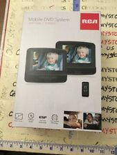 "RCA 7"" Dual Screen Mobile DVD System with Remote DRC69705E22 (R) New In The BOX"