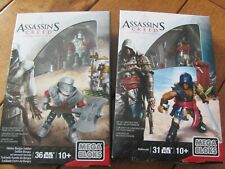 Mega Bloks CNG88 ADEWALE & CNG89 HEAVY BORGIA SOLDIER Assassin's Creed NEW
