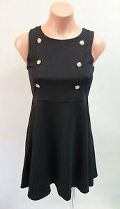 💜 Girl's BARDOT Sleeveless A-Line Dress Black Size 12Y Buy7=FreePost L861