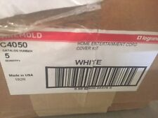 C4050 Wiremold Home Entertainment Cord Cover Kit - Box of 5 (New)