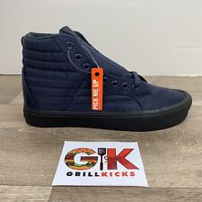 Vans Sk8-Hi Reissue (Quilted) Dress Blues Men's Size 7.5 New in Box VN0A32LPUCN