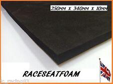 Racing Seat Foam Padding, 10mm Thick, Self Adhesive