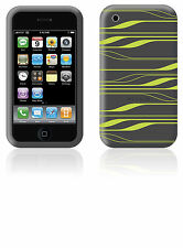 LOT 2__Belkin Silicone Sleeve Skin Case+Sreen for iPhone 3G 3Gs Green F8Z342 NEW