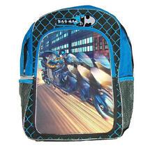 BATMAN 3-D LENTICULAR BACKPACK Book Bag School Boys Movie Batcycle Superhero NEW