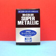 Mr. Hobby #SM03 Mr. Color Super Metallic Paint - Super Iron