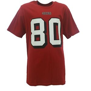 San Francisco 49ers Jerry Rice NFL Team Kids Youth Size T-Shirt New Tags