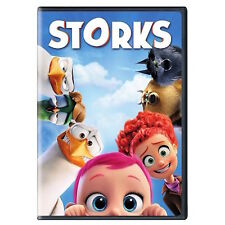 Storks (DVD, 2016) New & Sealed w/ Slipcover FREE Shipping!