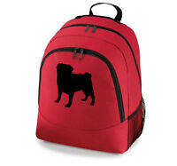 Backpack Pug Puggle French Bulldog or Boston Terrier Black Grey Red Price Drop