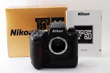 Nikon F5 35mm SLR Film Camera Body w/Box [Near Mint]  from Japan #182-31