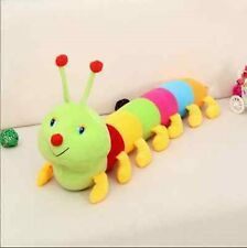 Colorful Inchworm Soft Lovely Developmental Child Baby Toy Doll Caterpillar