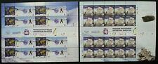 Malaysia Antarctic Research Programme 2012 Penguin Bird Earth (sheetlet) Mnh