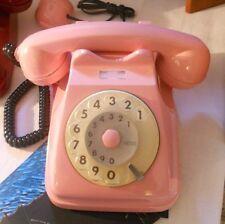 Telefono anni 70 80 SIP Rosa Vintage Funzionante