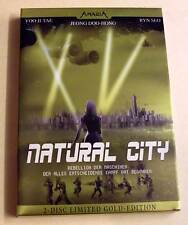DVD - Natural City - 2-Disc Limited Gold-Edition - Steelbook Schuber - Deutsch