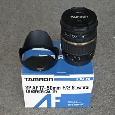 Tamron 17-50 f2.8. Absolutely immaculate. Boxed. Very little use. Canon fit.