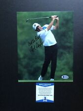 Fred Couples autographed signed 8x10 photo Beckett BAS COA Golf PGA Tour Masters