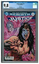 Justice League #13 (2017) Paquette Wonder Woman Variant CGC 9.8 HH402