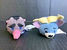 "Disney Tsum Tsum Zootopia Set Chief Bogo & Mr. Big 3.5"" Mini Plush -NEW -IC"