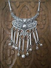 LARGE MOROCCAN ETHNIC STYLE HIPPY BOHO FESTIVAL STATEMENT NECKLACE