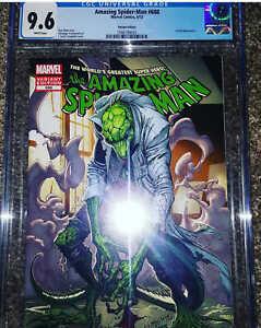 Amazing Spider-Man #688 1:50 J Scott Campbell Lizard Variant CGC 9.6