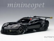 AUTOart 81651 CHEVROLET CORVETTE C7 R 1/18 MODEL PLAIN COLOR VERSION BLACK