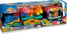 BABY WHEELS TRENINO CIRCO IN VIAGGIO CON 2 MACCHININE AUTO SOFT