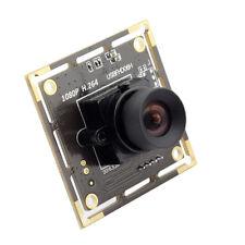 38x38mm 1080P USB CCTV Camera SONY IMX322 Low illumination H.264 1MP Webcam HD