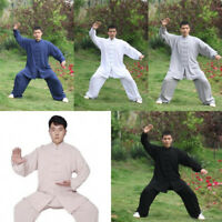 Kung Fu Tai Chi Cotton Suit Martial Arts Wushu Clothing Taiji Wing Chun Uniform