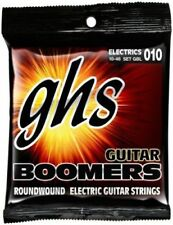 Corde neri GHS per chitarre e bassi