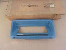 NOS MoPar 1977 Dodge B100 B200 B300 Van Dash Radio Bezel Blue