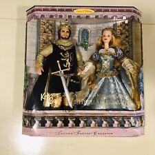 Ken & Barbie as King Arthur Guinevere Limited Edition 23880 Together Forever New