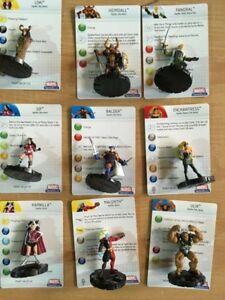 HEROCLIX Hammer Thor  9 figure asgard set