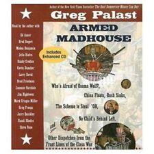 /BOOK/AUDIOBOOK CD Greg Palast Politics ARMED MADHOUSE