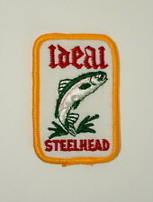 Ideal Steelhead Trout Fishing Fish Farms Hatchery Lure ? Cloth Patch Nos New