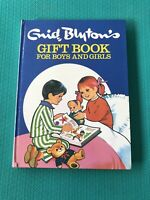 Enid Blyton's 1970 - GIFT BOOK FOR BOYS AND GIRLS - Hardback- Vintage