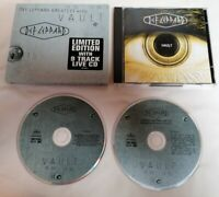 CD - Def Leppard Vault (Greatest Hits 1980/95) + 9 Track Bonus Live CD