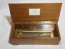 """REUGE 3 SONG 144 NOTE SUBLIME HARMONY MUSIC BOX """"TALES OF HOFFMANN"""" (SEE VIDEO)"""