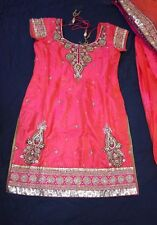 Bollywood Indian Pakistani Salwar Kameez Party Wear Silk