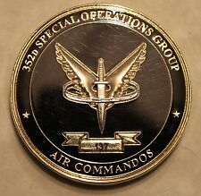 352nd Special Operations Ser #137 Commander's Air Force Challenge Coin AFSOC  PJ