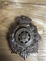 Victorian Other Ranks East Surrey Regiment Blue Cloth Helmet Plate